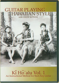 Guitar Playing Hawaiian Style, Volume 1